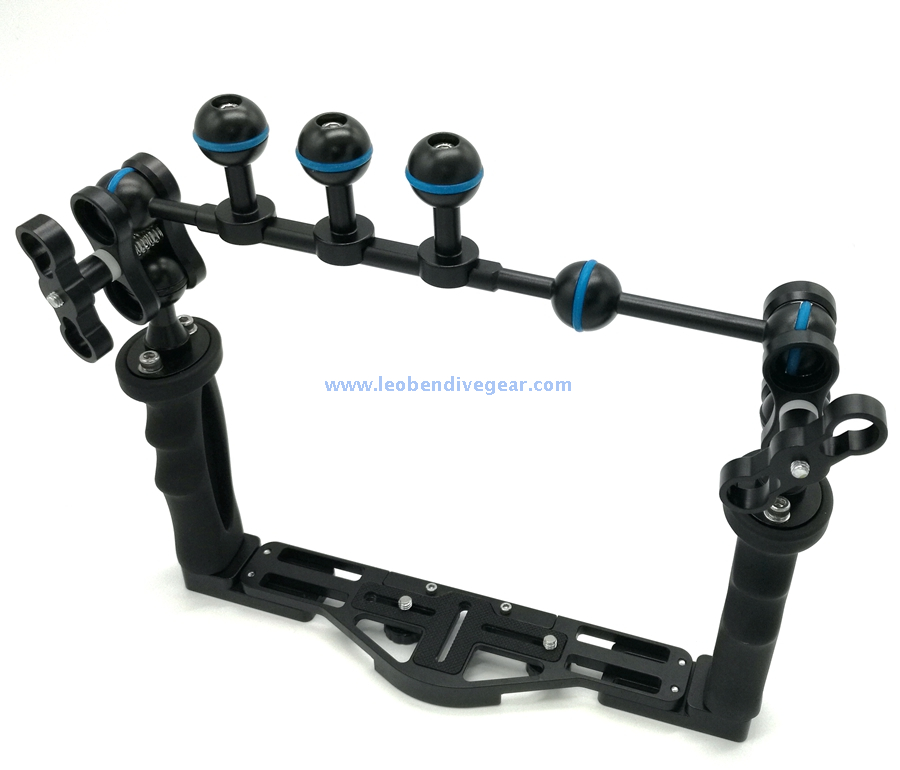 Underwater Multi Ball Mount Camera Arm Segments