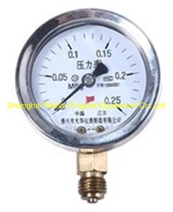 Y60AN Pressure meter Ningdong engine parts for GN320 GN6320 GN8320