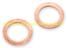 L250-52-002 Red copper washer Zichai engine parts L250 LB250 LC250