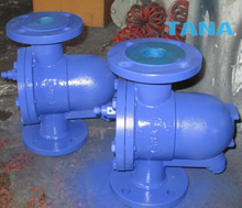 Free float ball type steam traps
