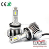Smallest P12 45W 6500lm universal H8/H11 car led headlight with built-in fan( 100% suitable for all cars)