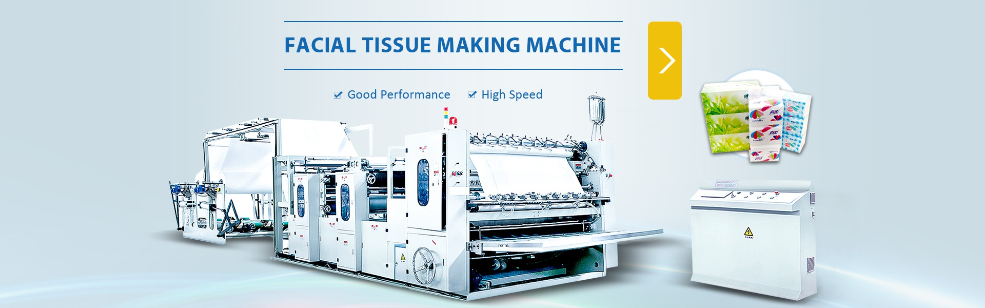 tissue paper making machine, toilet paper machine, napkin tissue ...