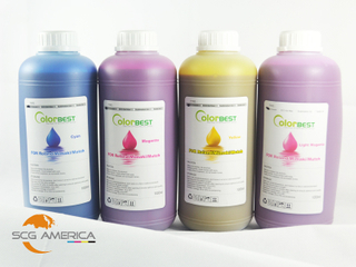 4PCS Eco Solvent Ink For Inkjet Printer 1000ML