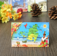 Advertising Tourism Fridge Magnet