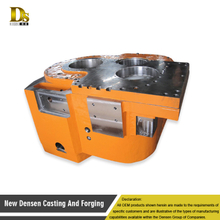 Customized Alloy Steel Sand Casting Gearbox Housing and casting gear