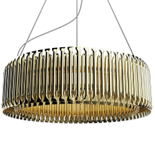 Matheny Suspension Light Modern Luxury Chandelier Large Chandelier Gold Copper (9001)
