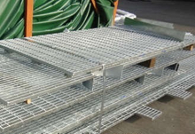 Steel Grating with Toe Plate