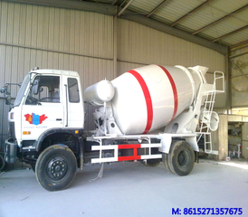 Dongfeng 4 ~6m3 small concrete mixer truck