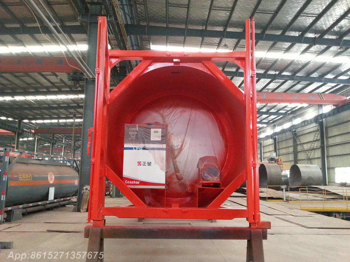 20FT LPG Tank Container with LPG GAS Pumping Dispenser LPG Gun