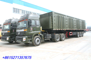 Heavy duty Side Tipper trailer 3 axles 60T-100T