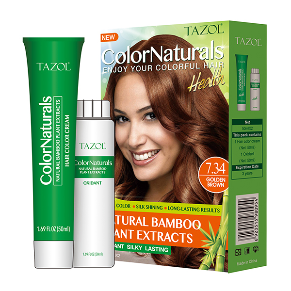 Tazol Natural Bamboo Plant Extracts Hair Color 50ml*2