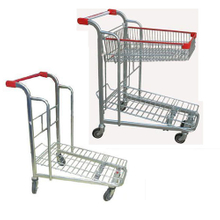 heavy load capacity Flat Bed Cargo Trolley (YRD-L1-1)