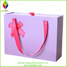 Attractive Pouched Packing Paper Gift Box for Shirt