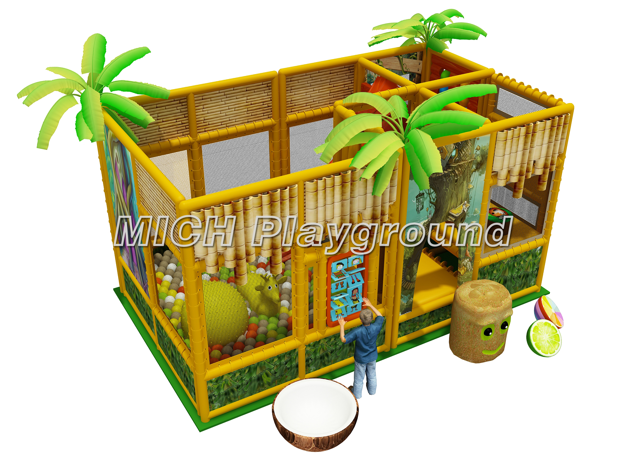 Children Soft Indoor Playground Buy Product On Mich