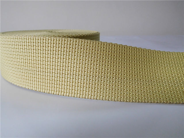 High strength Aramid Fiber Webbing for industry