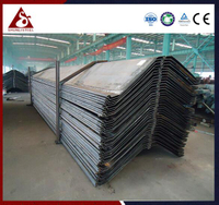 Z steel sheet pile with cold-formed steel sections
