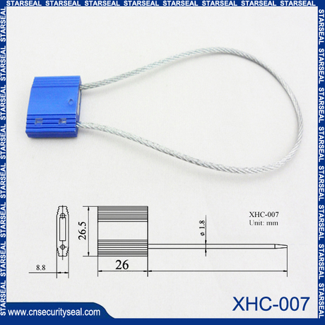 Container cable seals