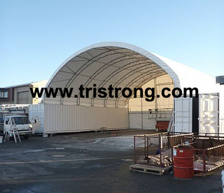 Container Shelter, Large Container Tent, Canopy (TSU-4040C)