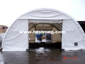 Large Dome Tent, Trussed Frame Shelter, Semicircle Warehouse (TSU-3040T, 3065T)