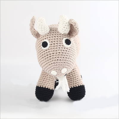 Hand Knitted goat