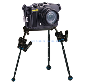 Leoben Underwater Tripod Leg Bracket for Camera Housings