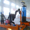 WOIL wet and dry Industrial Cyclone Vacuum Cleaner fume extractor / dust collector for CNC