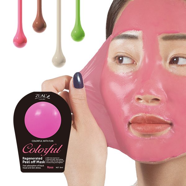 Regenerated Peel Off Mask (rose)