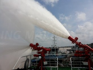 Marine External Fire Fighting FIFI System