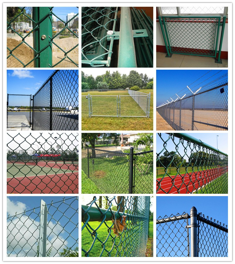 chain link fence application