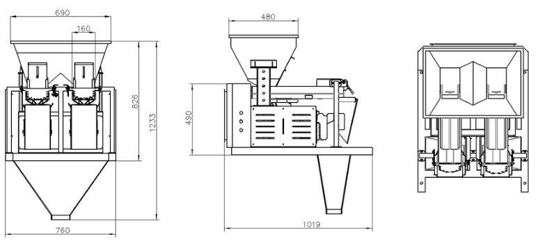 2Head Linear Weigher Weighing machine-drawing.jpg