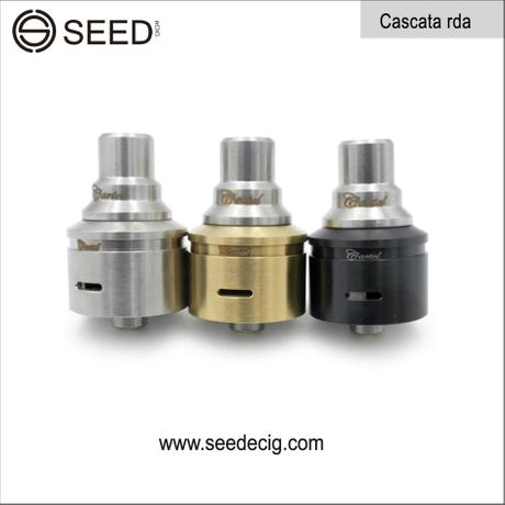 Cig vaporizer cartel rda cascata rda 1:1 clone mechanical cascata