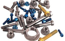 Titanium CNC Parts - bolts, screws, nuts, washers