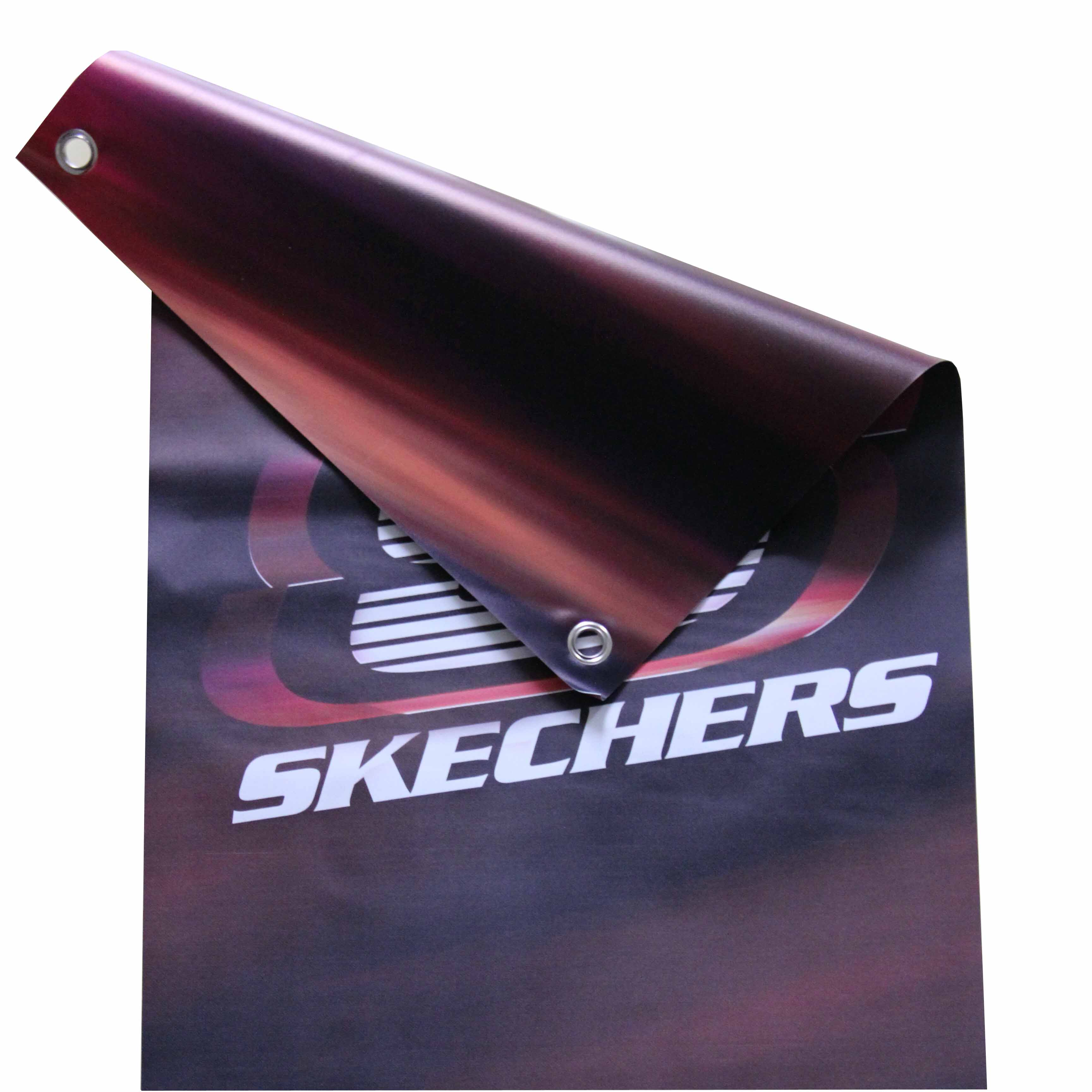 Custom Hanging Blockout Vinyl Banners With Double Sided