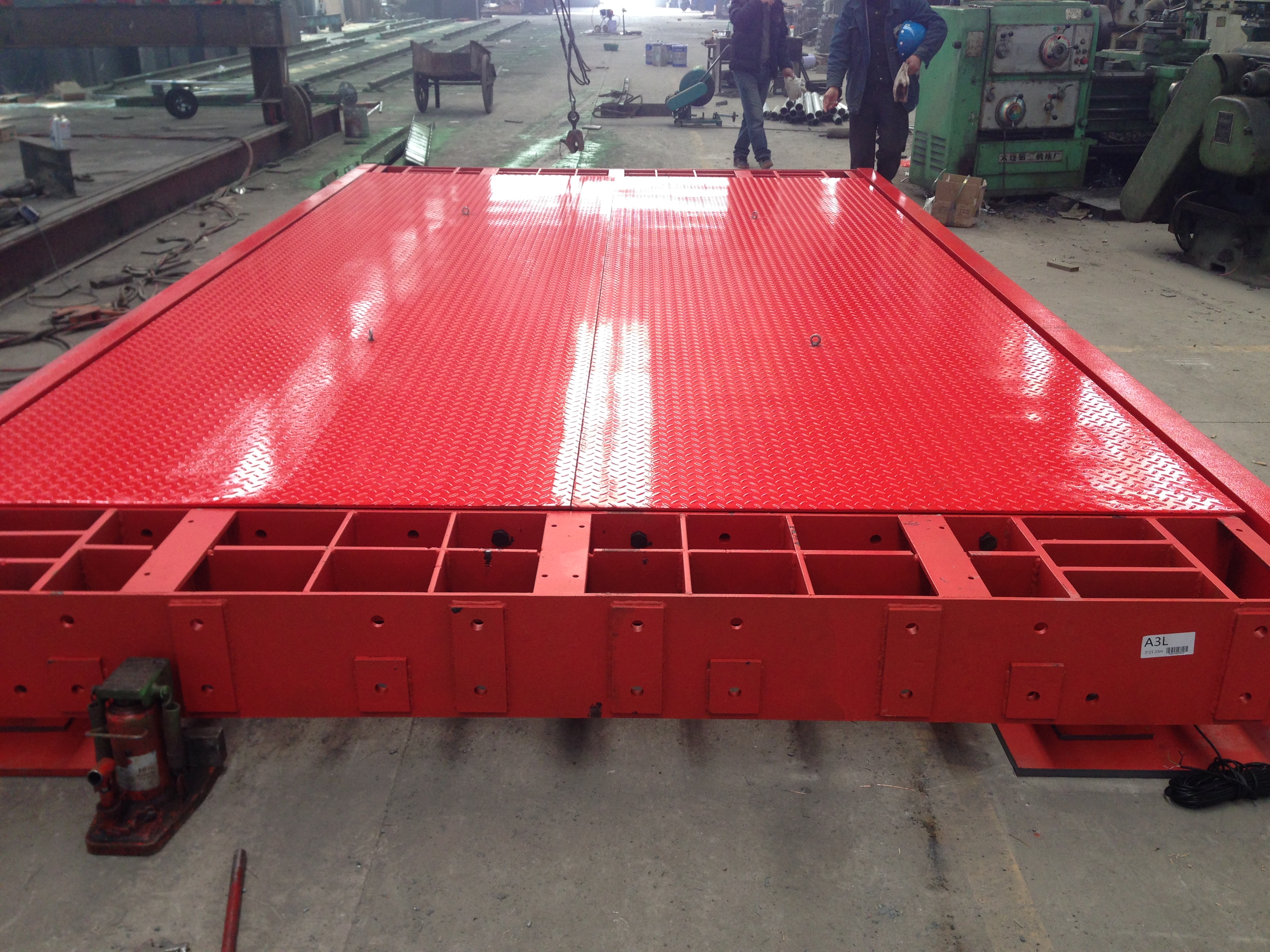 KYLOWEIGH Weighbridge-Portable Outerframed structure-KW-WB-PF0001