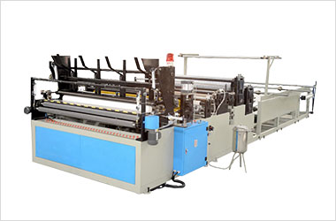 Toilet Tissue Rewinding Machine