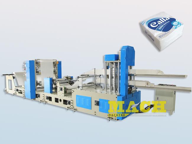Two Lanes High Speed Paper Napkin Making Machine