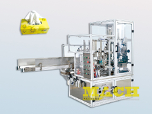 Automatic Facila Tissue Paper and Napkin Paper Carboard Box Packing and Sealing Machine Machine