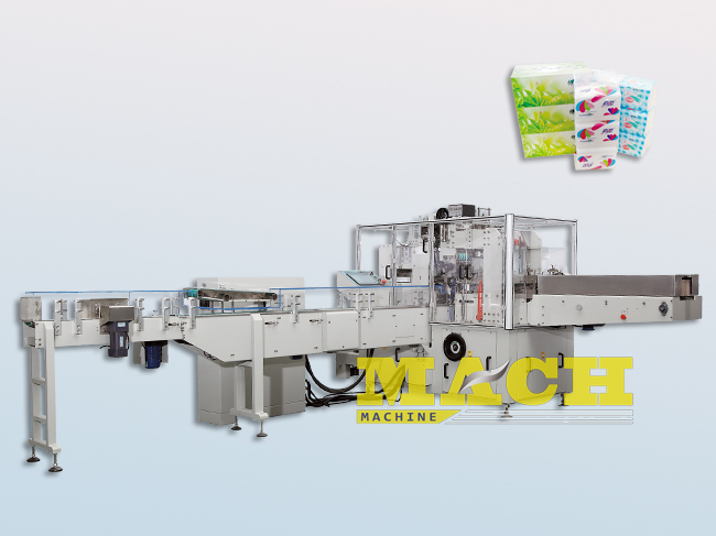 High Speed Automatic Facila Tissue and Paper Napkin Packing Machine