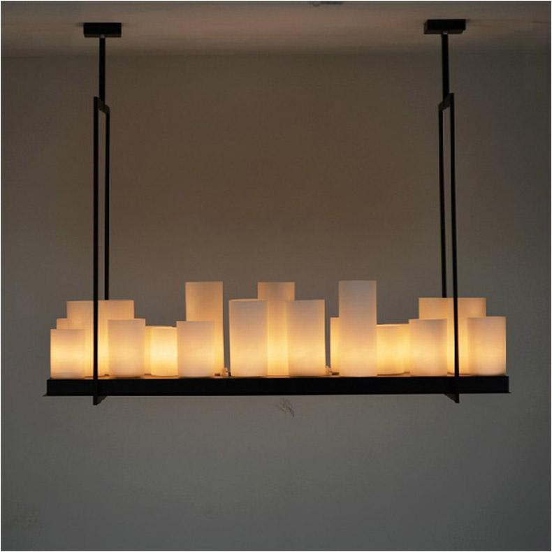 European style Rectangle modern candle decorative modern ...