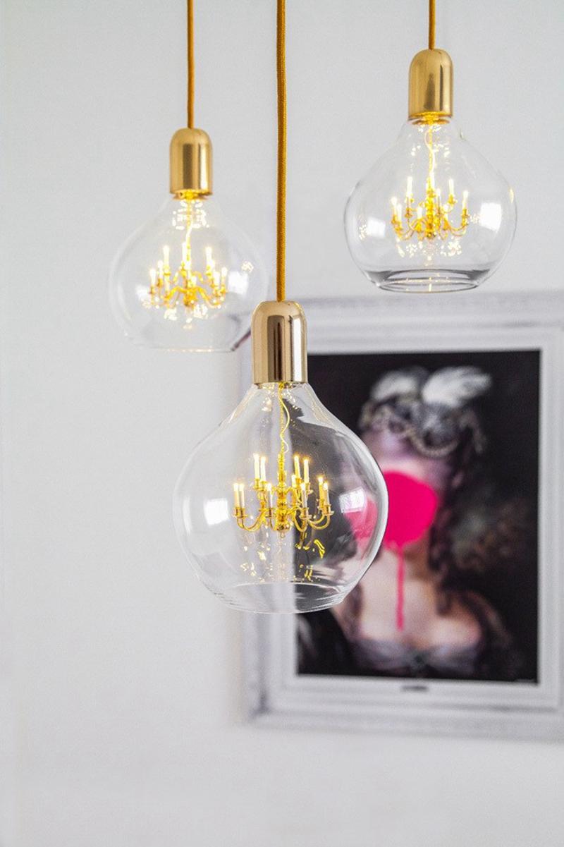 Mini king chandelier inside glass bulb makes for one unusual 5069 king chandelier 9 arubaitofo Images
