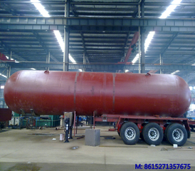 DTA Liquefied Gas Semi-trailer 48cbm for liquid ammonia
