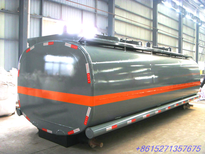 Hydrochloric Acid Tank Parts Tank Body for Truck Transport HCl (max 35%), NaOH (max 50%), NaCLO (max 10%), PAC (max 17%)