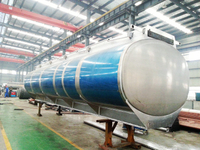 Aluminium alloy Tank Truck Parts tank body