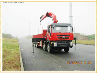 IVECO Technology Truck Mounted Crane 16t xcmg