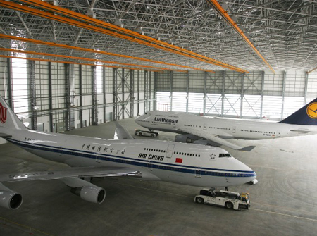 Airplane(Aircraft) Hangar Buildings