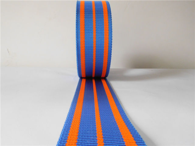 High strong pulling force polyester webbing for industry