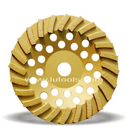 Segmented Turbo Diamond Cup Grinding Wheel (DG-003)