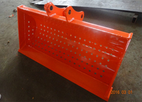 Doosan DX75 wide sieve bucket