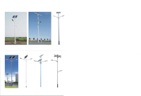 Solar Street Lighting with 4m Pole