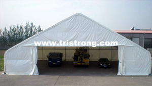 Large Portable Shelter, Super 20m Wide Warehouse (TSU-6549)